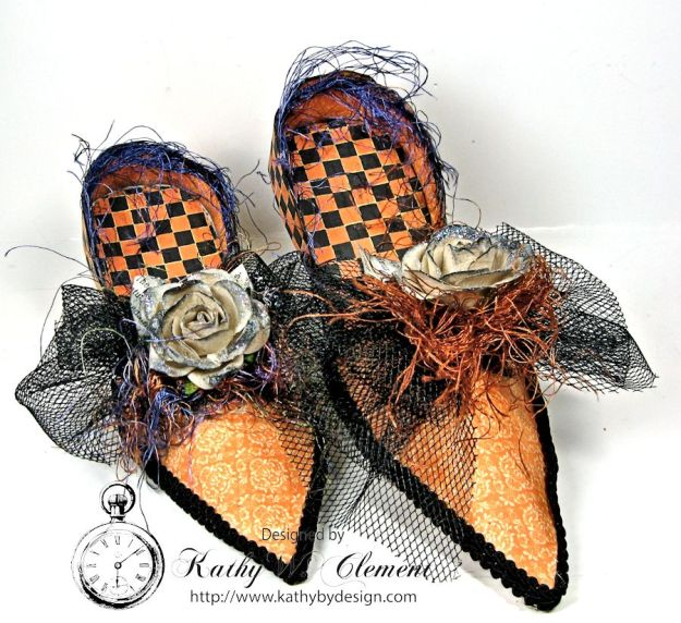Witch shoes Crafty Secrets 04