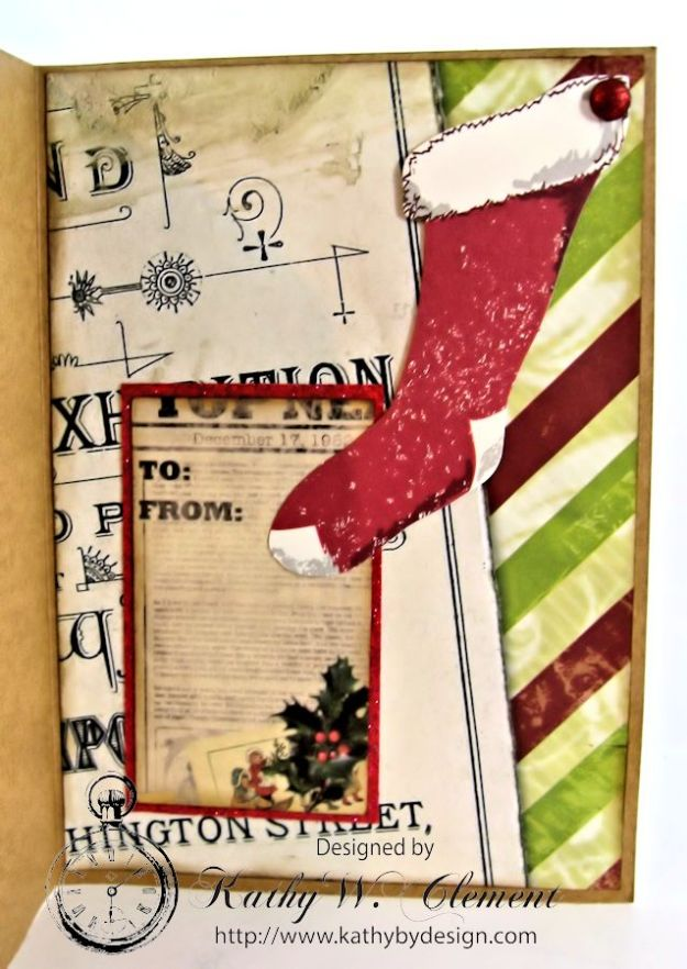 Kathy by Design/Santa's Journey Pocket Card