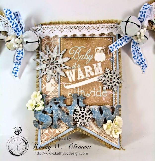 Authentique Cozy Winter Banner for Gypsy Soul Laser Cuts 04