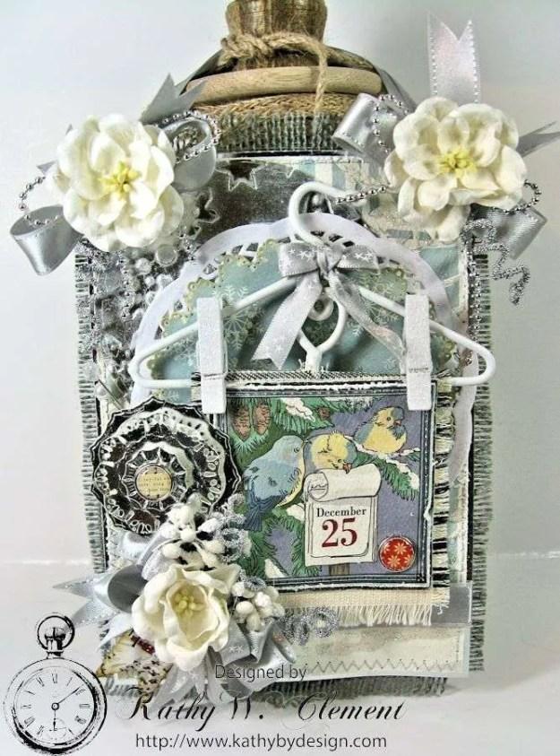 Kathy by Design/Carta Bella Winter Wonderland Wall Hanging 01