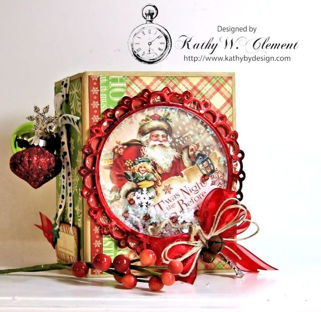 Kathy by Design/Night Before Christmas Book Box 01
