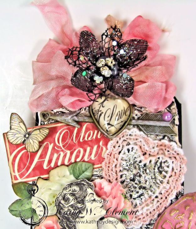 Enjoy Your Embossing Challenge Frilly Funkie 05