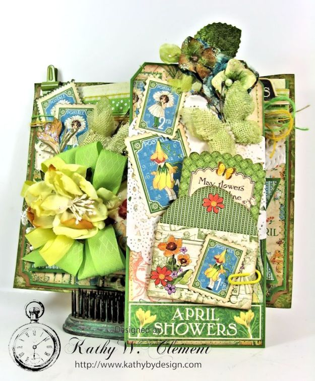 April Showers Pocket for RRR Welcome Spring 06