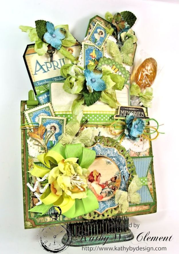 April Showers Pocket for RRR Welcome Spring Challenge