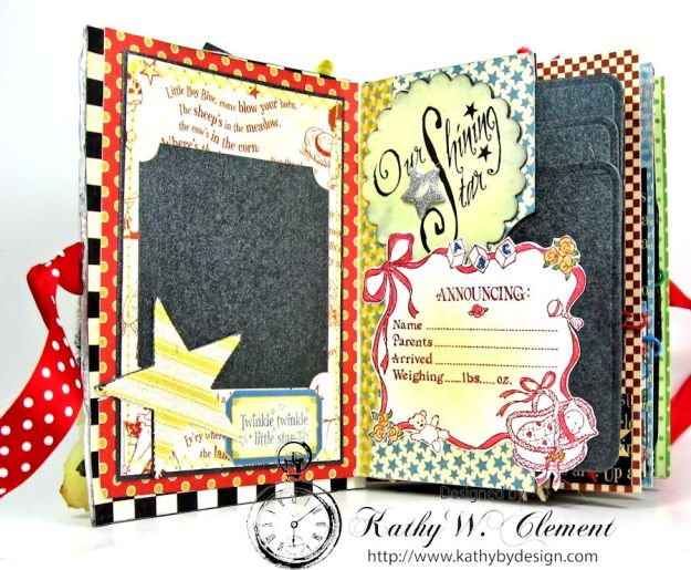 Mother Goose Mini Album Tutorial Page 1