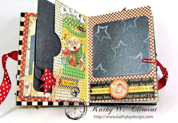 Mother Goose Mini Album Tutorial Page 2