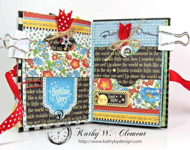 Mother Goose Mini Album Tutorial Page 3