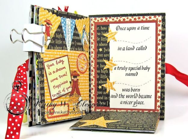 Mother Goose Mini Album Tutorial Page 7