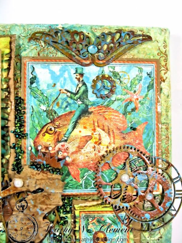 Boy oh Boy Challenge for Frilly and Funkie:Voyage Beneath the Sea Canvas 05