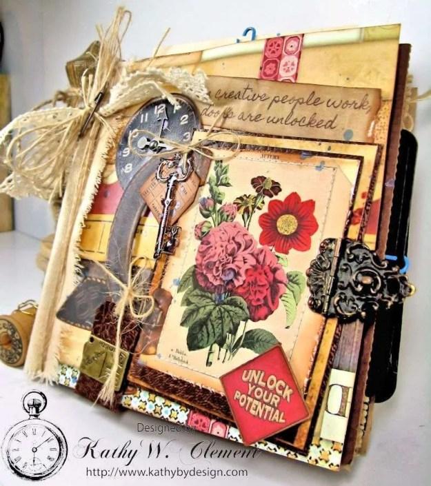 Wanderlust Junque Journal Kathy by Design 02