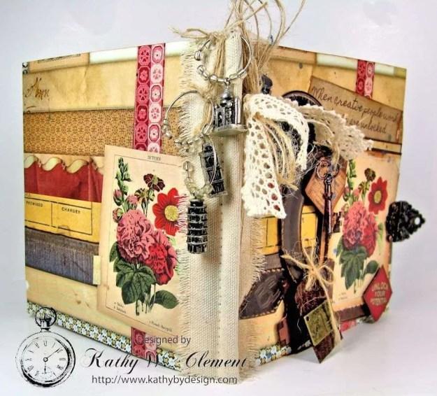Wanderlust Junque Journal Kathy by Design 03