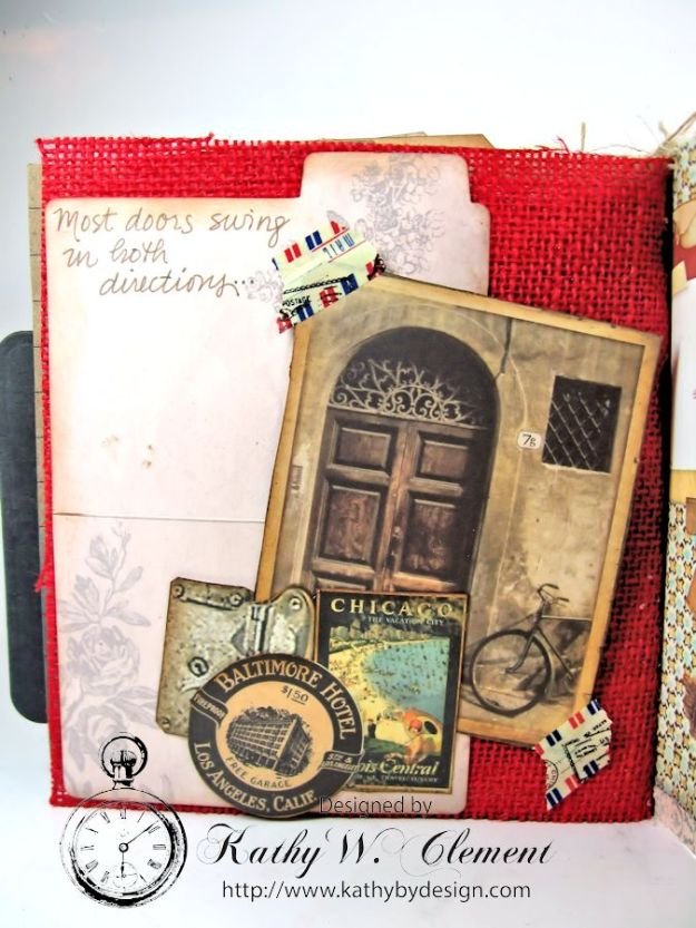 Wanderlust Junque Journal Kathy by Design 13