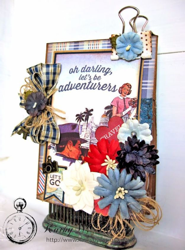 Petaloo/Authentique Blog Hop Travel Album 03
