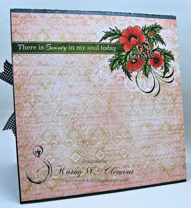 Poppy Card by Kathy Clement for Heartfelt Creations Alumni Hop June 2016 05