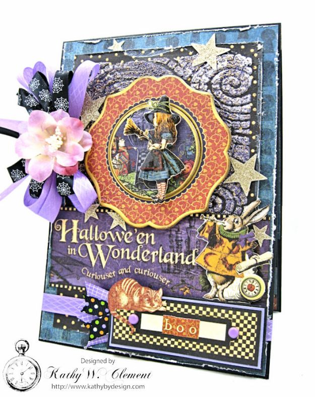 halloween-in-wonderland-card-halloween-in-wonderland-by-kathy-clement-for-frilly-and-funkie-going-round-in-circles-challenge-product-by-graphic-45-photo-1