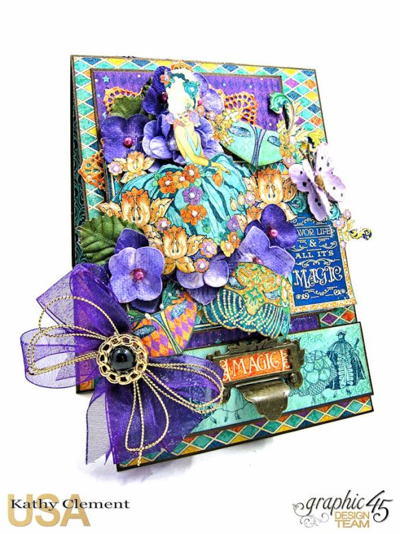 Magical Masquerade Ball Invitation, Midnight Masquerade, by Kathy Clement, Product by Graphic 45, Photo 5