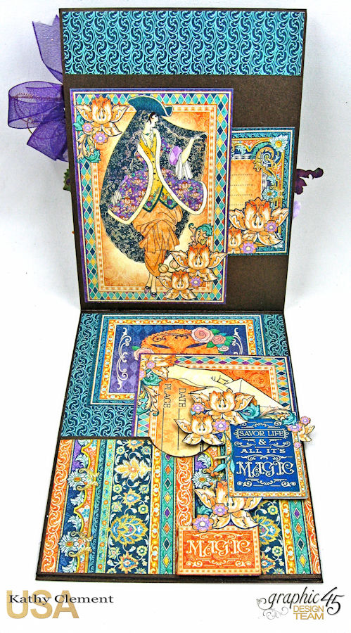 Magical Masquerade Ball Invitation, Midnight Masquerade, by Kathy Clement, Product by Graphic 45, Photo 6