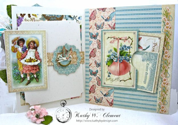 Spring Has Sprung Easter Shaker card by Kathy Clement Photo 3