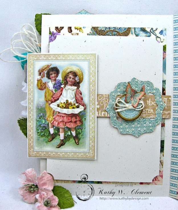 Spring Has Sprung Easter Shaker card by Kathy Clement Photo 4