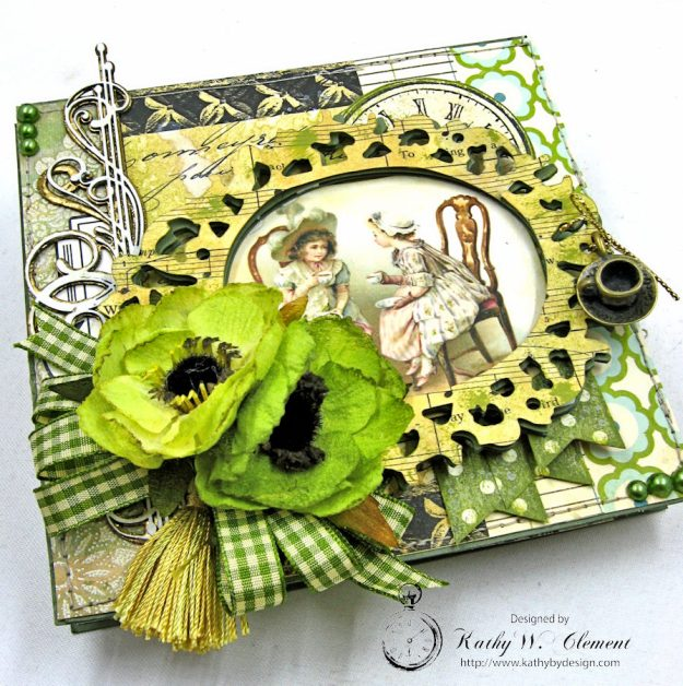 St. Patrick's Day Easel Card by Kathy Clement for Petaloo International Photo 8