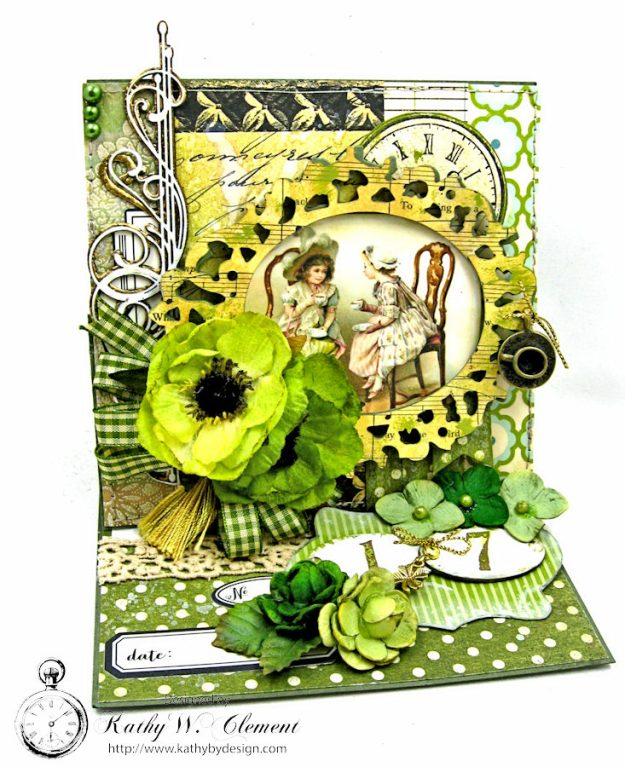 St. Patrick's Day Easel Card by Kathy Clement for Petaloo International Photo 2