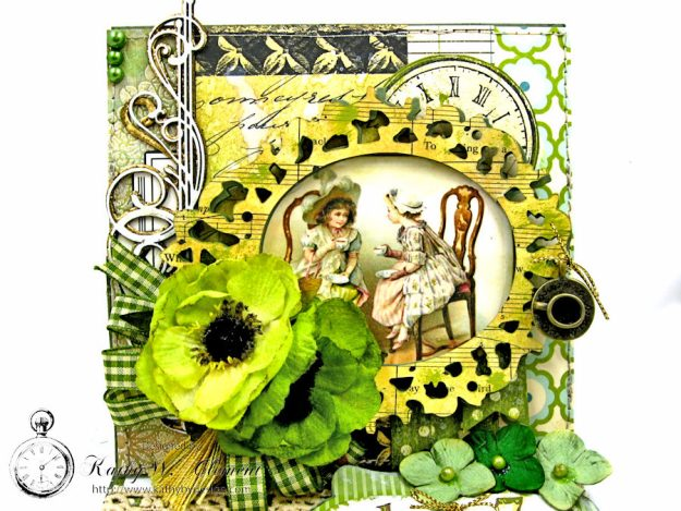 St. Patrick's Day Easel Card by Kathy Clement for Petaloo International Photo 4