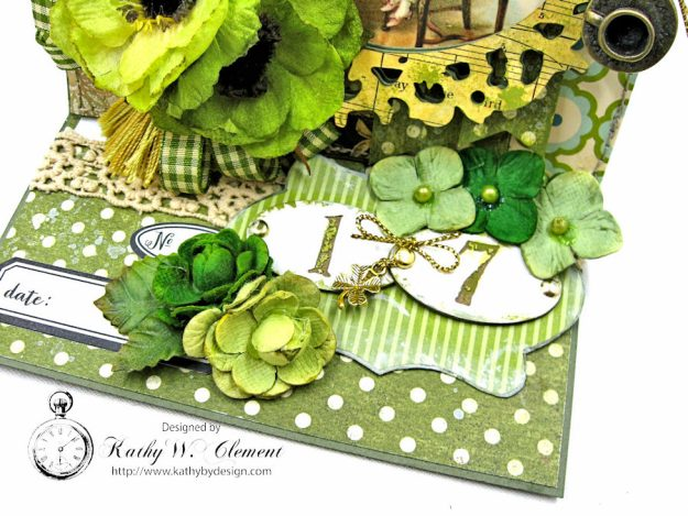 St. Patrick's Day Easel Card by Kathy Clement for Petaloo International Photo 6