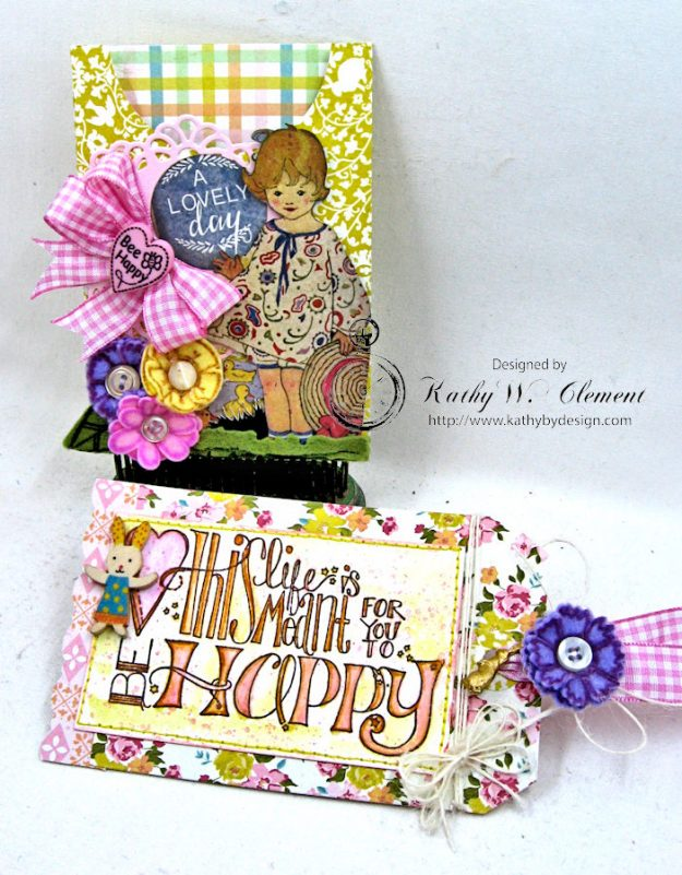 Happy Little Easter Tag Pockets by Kathy Clement for Tammy Tutterow Designs Photo 9