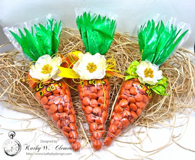 Quick and Easy Easter Bunny Approved Treat Bags by Kathy Clement for Petaloo International