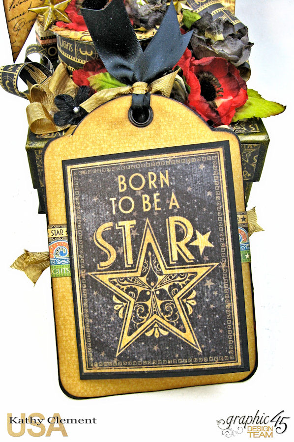 Born to Be a Star Photo Display Box Vintage Hollywood by Kathy Clement Product by Graphic 45 Photo 11