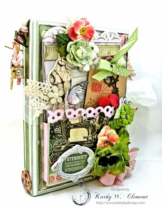 Sew Much Love Folio Video Mademoiselle by Kathy Clement Product by Petaloo and Kaisercraft Photo 2