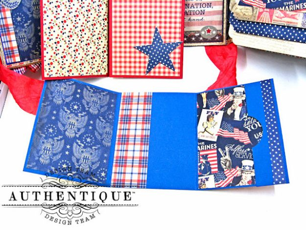 Authentique Heroic Patriotic Folio Heroic by Kathy Clement Product by Authentique Photo 11