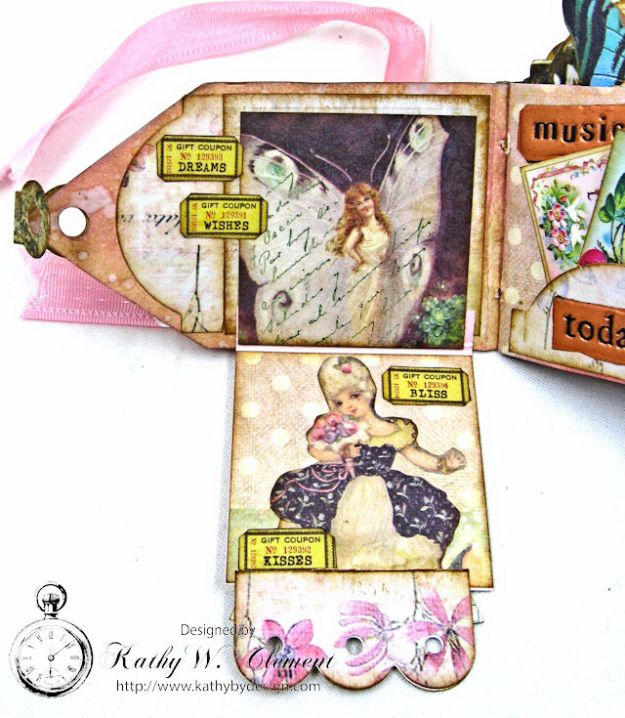 Fairy Happy Birthday Wishes Gift Card Wallet by Kathy Clement Photo 8