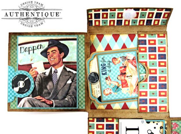 Dear Old Dad Father's Day Gift Wallet with Authentique Dapper Collection by Kathy Clement Photo 7