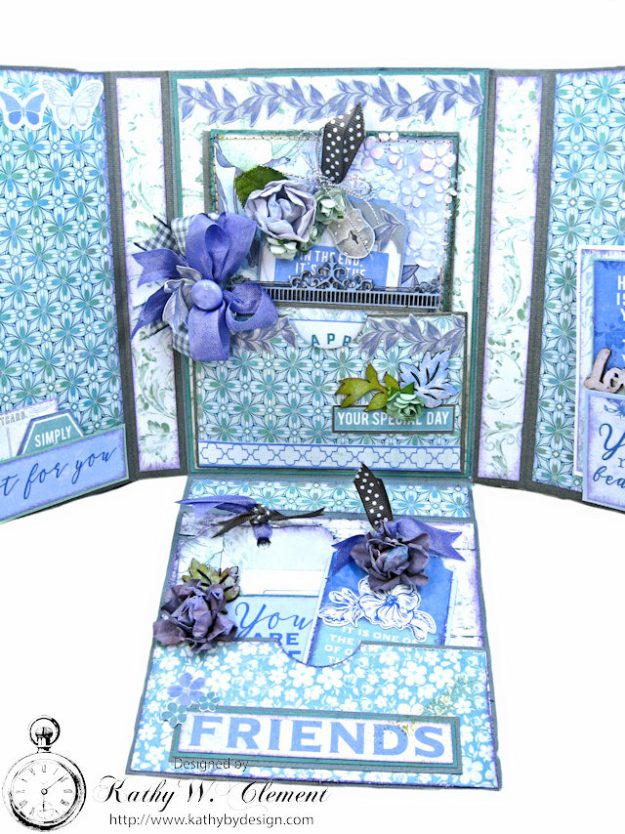 Kaisercraft 2017/18 Design Team Application Lilac Whisper Celebration Folio by Kathy Clement Product by Kaisercraft Photo 12
