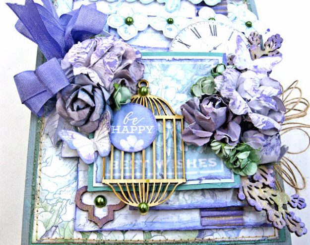 Kaisercraft 2017/18 Design Team Application Lilac Whisper Celebration Folio by Kathy Clement Product by Kaisercraft Photo 3