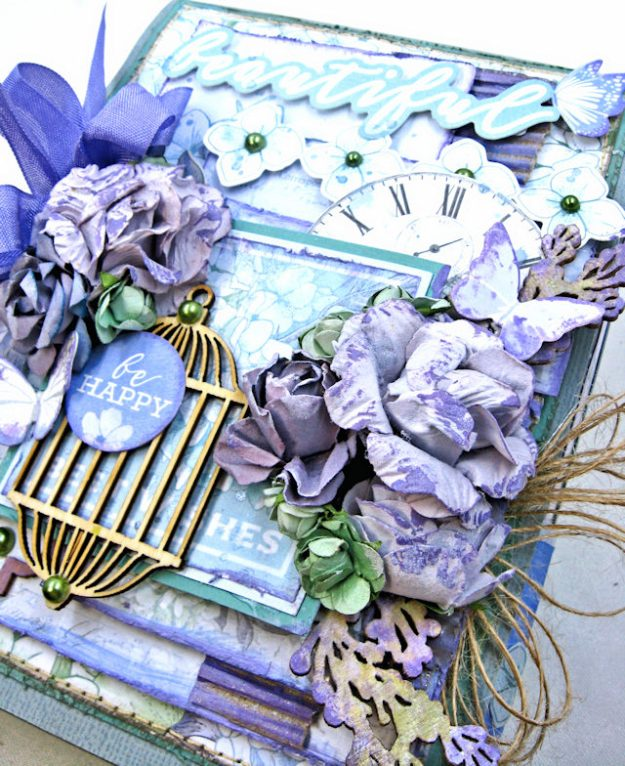 Kaisercraft 2017/18 Design Team Application Lilac Whisper Celebration Folio by Kathy Clement Product by Kaisercraft Photo 4