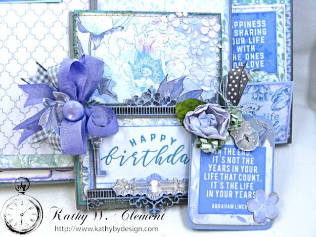 Kaisercraft 2017/18 Design Team Application Lilac Whisper Celebration Folio by Kathy Clement Product by Kaisercraft Photo 17