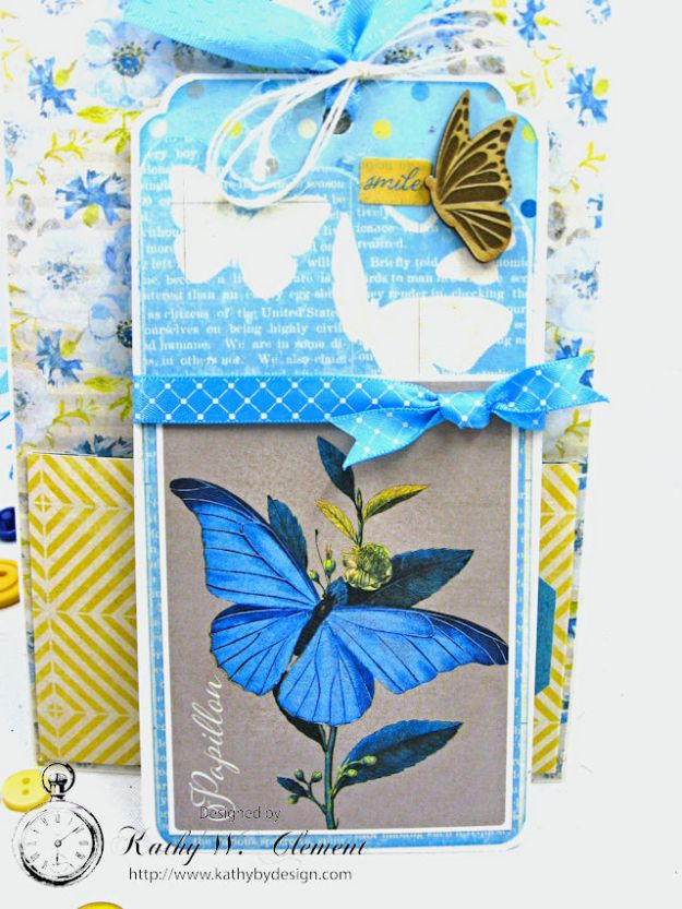 Ride On All Occasion Hidden Tag Card by Kathy Clement for Really  Reasonable Ribbon Photo 6