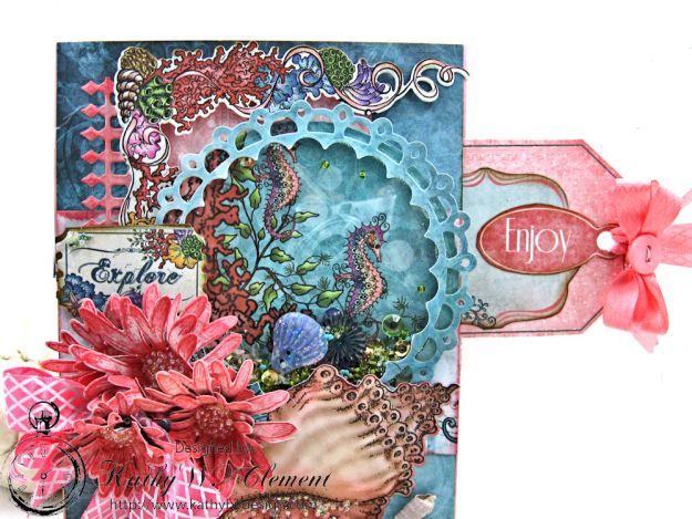 Heartfelt Creations Under the Sea Seashell Shaker Card Photo 2
