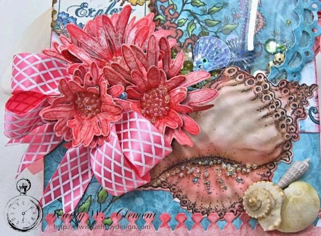 Heartfelt Creations Under the Sea Seashell Shaker Card Photo 5