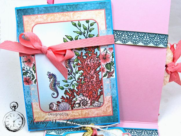 Heartfelt Creations Under the Sea Seashell Shaker Card Photo 7