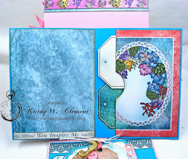 Heartfelt Creations Under the Sea Seashell Shaker Card Photo 8