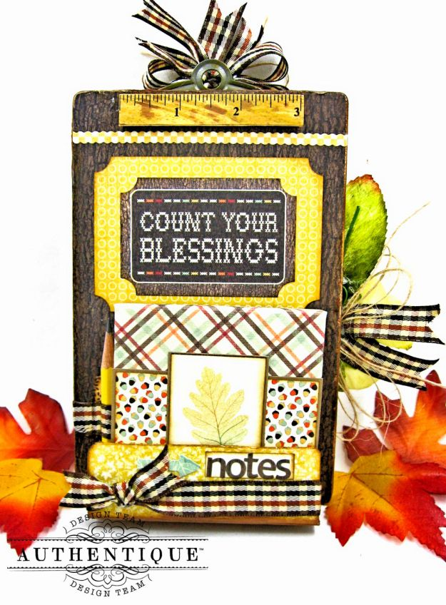 Back to School Mini Message Center Bountiful by Kathy Clement Product by Authentique Photo 2