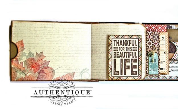 Authentique Bountiful Fall Home Decor Tutorial by Kathy Clement Photo 10