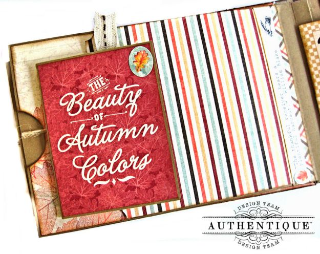 Authentique Bountiful Fall Home Decor Tutorial by Kathy Clement Photo 11