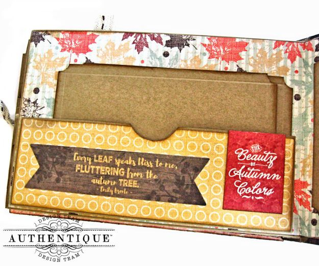 Authentique Bountiful Fall Home Decor Tutorial by Kathy Clement Photo 14