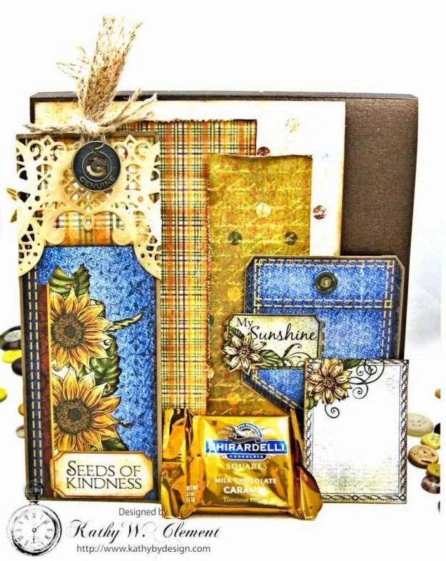 Heartfelt Creations Classic Sunflower Birthday Card Folio by Kathy Clement Photo 7