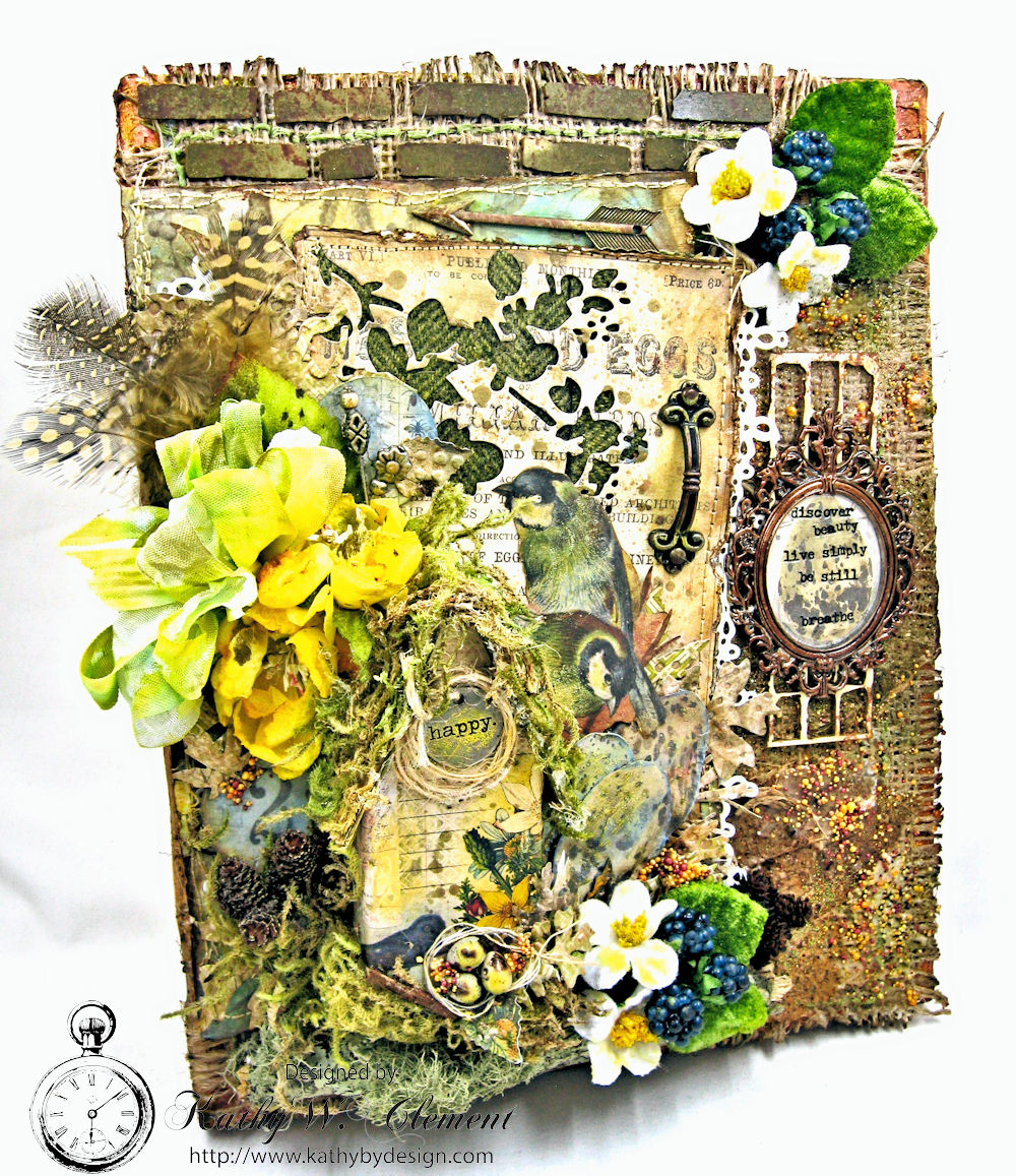 Blooming Art SCS137 Wendy Vecchi Cling Rubber Stamp