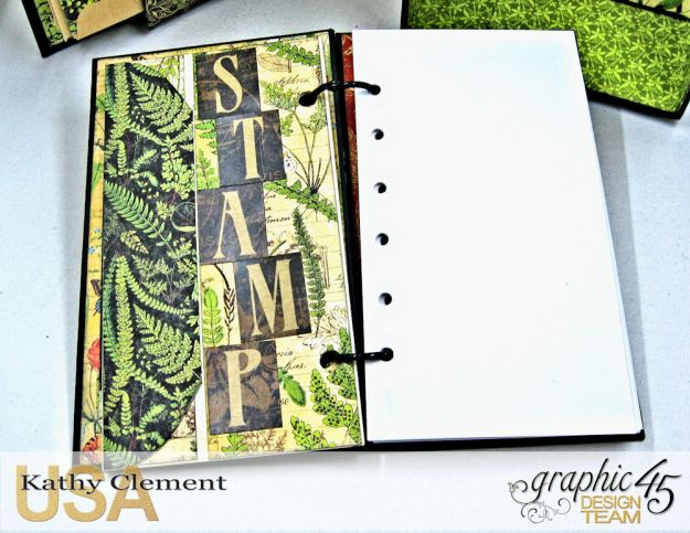 Nature Sketchbook Correspondence Kit Nature Sketchbook by Kathy Clement Product by Graphic 45 Photo 12